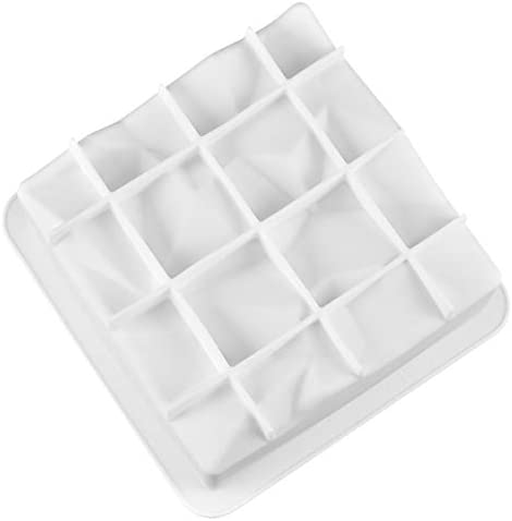 BrilliantDay 3D Pastel de Silicona Molde para Hornear Antiadherente Molde Cubito de Hielo Jalea Dulce de Chocolate Magdalena Molde para Hornear#1