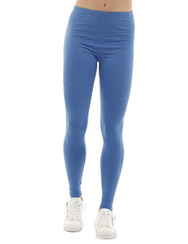 Donna Unita Tinta Blu Leggings Sys 7xZTpp