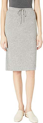 Vince Women's Sweatshirt Skirt, Heather Steel, Grey, X-Small