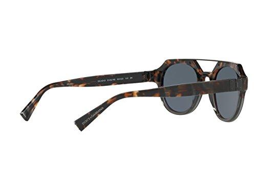 Dolce & Gabbana Sonnenbrille (DG4313) BLUE HAVANA/GREY