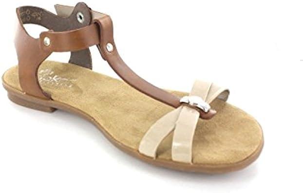 Rieker Schuh GmbH 64268 62 Größe 43 nudeamaretto: