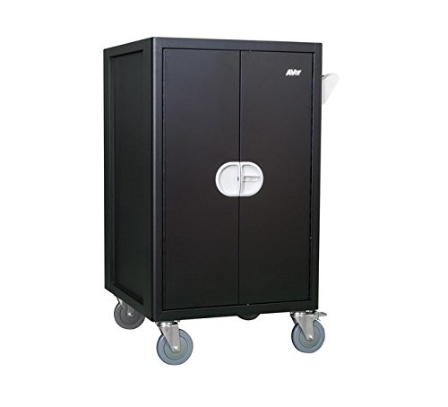 Aver Information CHRGEE36C AVerCharge E36c Cart for 36 Tablets/Notebooks, Black by Aver Information (Image #1)