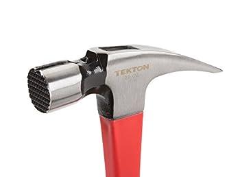 Tekton 30325 Jacketed Fiberglass Magnetic Head Rip Hammer, 22-ounce 2