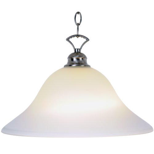 Monument 617255 Wellington Pendant, Brushed Nickel, 16 In.