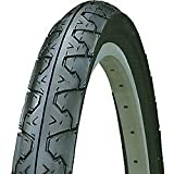 Kenda 163026 Big City Slick Wire Bead Bicycle Tire, Blackwall, 26 x 1.95""