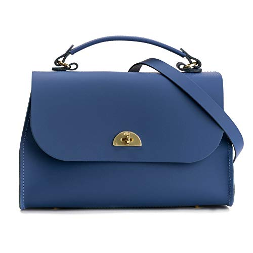 The Cambridge Satchel Company Daisy Bag Coastal Fjord Blue Matte One Size