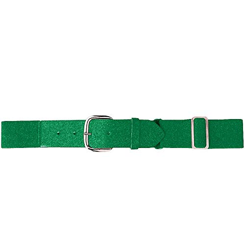 Augusta Sportswear Kids' Elastic Baseball Belt, Kelly, One Size