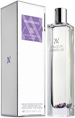 Valeur Absolue Harmonie Dry Oil | Uniquely Crafted to Encourage Mindfulness | Citrusy & Woody | Handmade in Southern France | 3.4 Fluid Ounces