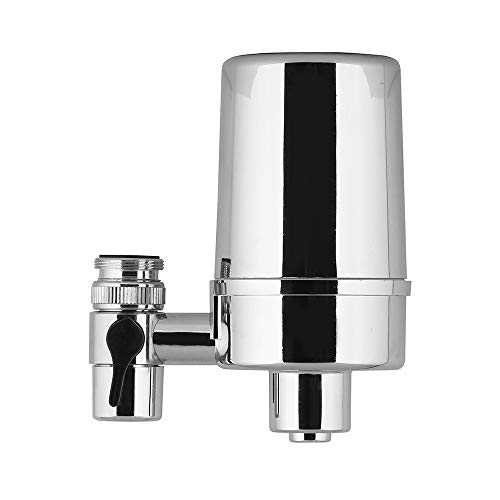 WaterQueen Water Faucet Filtration System ,Advanced Water Faucet Mount Filter ,Soften Hard Water,Improve Taste,Suitable for Kitchen and Bathroom Water filter
