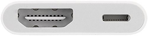 Apple Lightning Digital AV Adapter for Select iPhone, iPad and iPod Models (MD826AM/A)