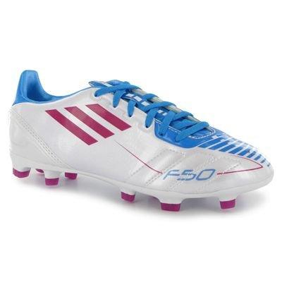 adidas F10 Trx Fg J - Zapatillas de fútbol Niños RUNWHT/RADPN