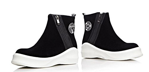 Laruise Plataforma Black Boot para mujer Short RRx4pr