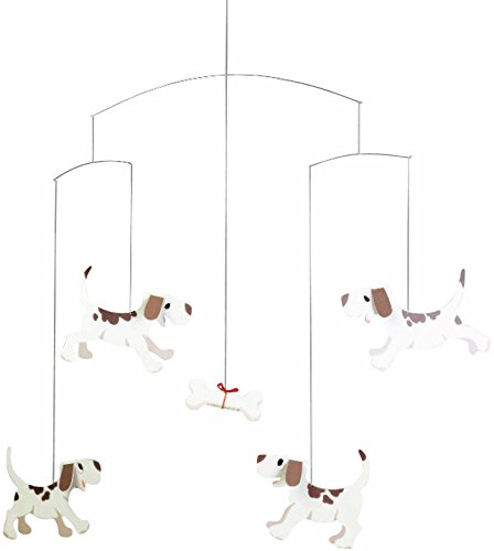 Flensted Mobiles Nursery Mobiles, Doggy Dreams (Dog Mobile compare prices)