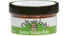 Rub with Love Spicy Tokyo Rub by Tom Douglas, 3.5 Ounce