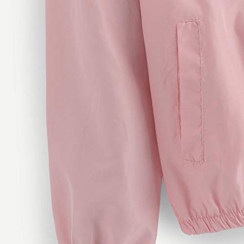 Sudaderas Deporte Cardigans Tops Abrigo Rosado Outwear Manga Jersey impresión Mujer Chaqueta Bllouse Mujeres Moda Abrigo Larga Camuflaje Capucha ZvFrWwZqS6
