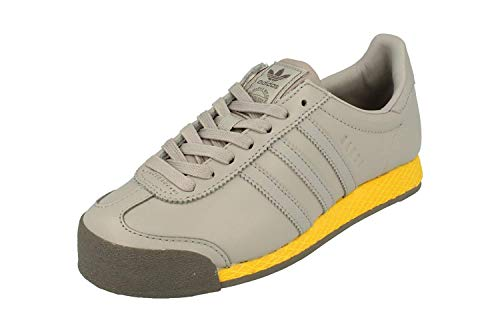 adidas Originals Samoa Vintage Mens Trainers Sneakers (UK 12 US 12.5 EU 47 1/3, Light grantite Gold - Adidas Vintage Gazelle