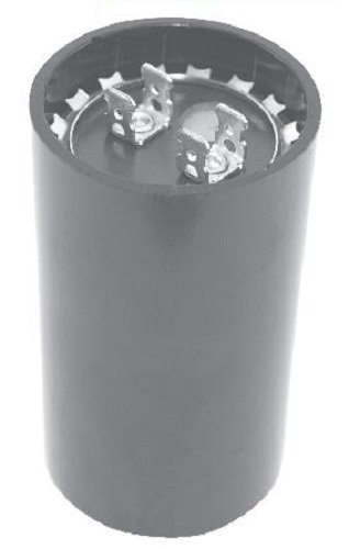 NTE Electronics MSC125V1000 Series MSC Motor Start AC Electrolytic Capacitor, Two 0.250″ Quick Connect Terminals, 1000-1200 µF Capacitance, 110/125V