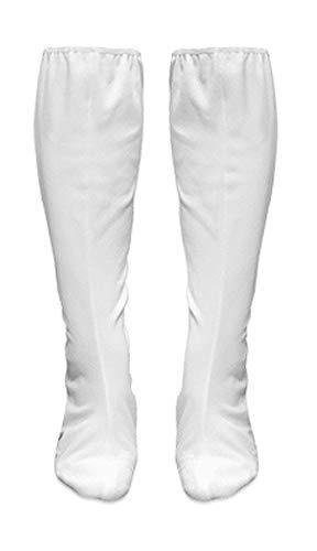 (Sanctuarie Designs Princess Leia Plus Size Halloween Costume White Boot Covers Only (No Dress))