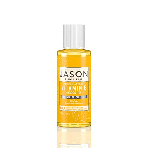 JASON Vitamin E 45,000 IU Skin Oil, Maximum Strength,  2 Ounce Bottle