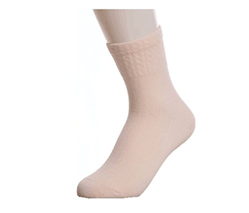 Womens-Candy-Color-Comfort-100-Cotton-Knitted-Crew-Sock