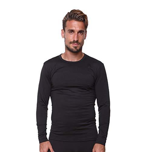 (Men's Thermal Top Lightweight Ultra Soft Fleece,Base Layer,)
