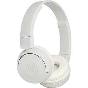 JBL T450 BT – Fone de ouvido Bluetooth, sem fio, branco