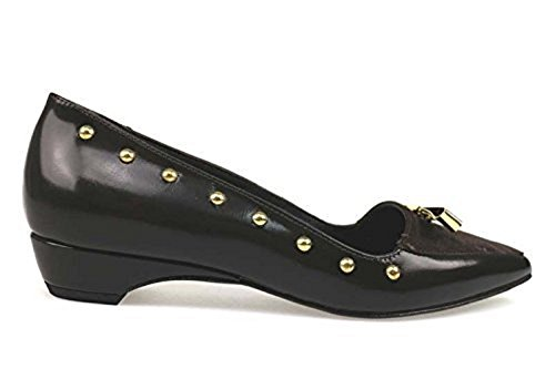 Zapatos Marrón Cuero Bailarinas BRACCIALINI Mujer Gamuza 37 AP988 4wqzPSn4T