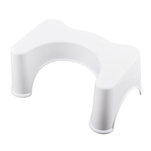 """Beyoung® 8"""" Bathroom Toilet Stool - Ergonomic Toilet Stool for Better Bowel Movements Gastroenterologist Proper Toilet Posture for a More Comfortable and Healthier Results (1)"""