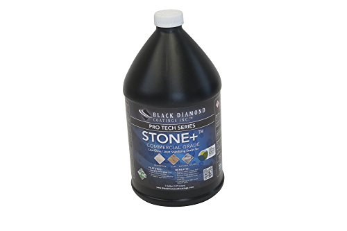Small Joint Sealer - STONE+ Water-Based, Color Enhancing, Low Gloss to No Gloss Stone Sealer and Clay Sealer - PRO TECH SERIES By BLACK DIAMOND COATINGS INC. (1 Gallon)