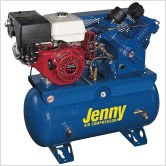 30 Gallon 11 HP Gas Two Stage Service Vehicle Stationary...