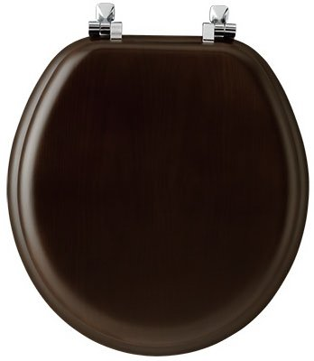 Natural Reflections Toilet Seat - Tlt Seat Wd Rnd Natural