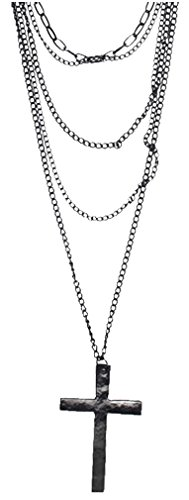 Leegoal Fashion Multi layer Pendant Necklace