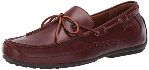 Polo Ralph Lauren Men's Roberts Driving Style Loafer deep Saddle tan 11.5 D US