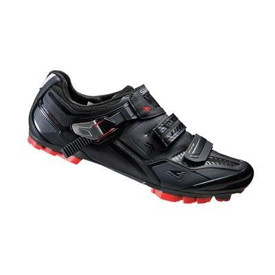 SHIMANO 2016 Men's Elite Pro XC Racing Custom Fit Mountain Bike Shoes - SH-XC70L (Black - 40)