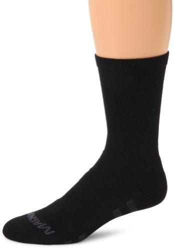 Magnum MX-3 Crew Mag-Dry Performance Sock (Black, Large)
