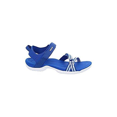 Teva Verra, Damen Sandalen blau - weiß