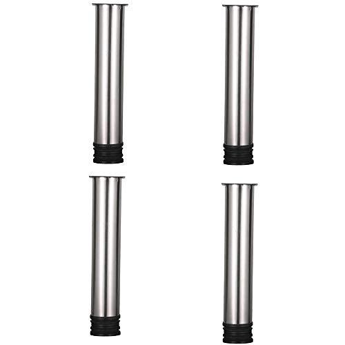 Furniture legs, Stainless Steel Sofa Legs Adjustable Table Legs Cabinet Support Legs 4 ()