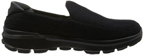 3 Uomo Walk SkechersGo Black Sneaker 5ATnwq0