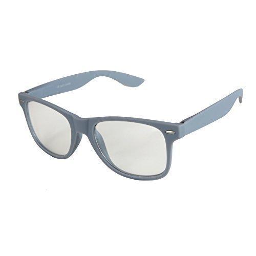 Gafas Retro goma Bisagra Gafas Transparente Gris Vintage De elegir Sol Nerd a muelle 101 De Alta de Modelos colores con Unisex calidad varios estera de wzq6fg78