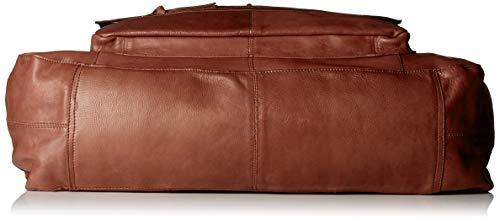 Pctotally y Noos Travel Marrón bolsos Shoppers Stone Leather de Royal PIECES Brown Bag Mujer hombro dXq0dx