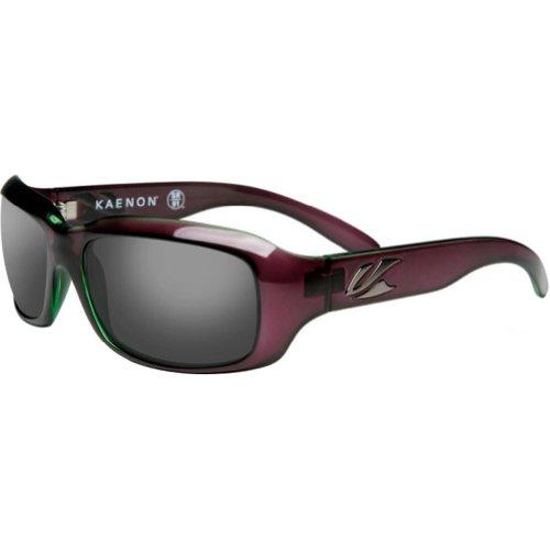 Kaenon womens Bolsa 006-07-Polarized G12 Polarized Sport Sunglasses,Polarized Eggplant,55 - Kaenon Sunglasses
