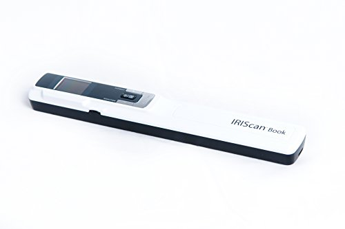 - IRIScan Book 3 Color Document Image Handheld Portable Mobile Color Scanner - White