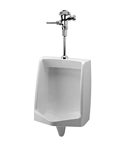 (Mansfield Plumbing 410HE Cascade .5 GPF Half-Stall Urinal, White )