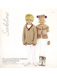 - The second Sublime children's double knitting book