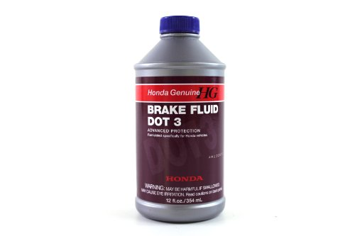 Genuine Honda Fluid 08798 9008 Dot 3 Brake Fluid   12 Oz