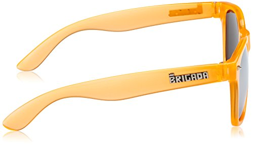 Orange naranja única Clear BRIGADA sol de Orange Gafas talla naranja Lawless Clear Talla IUUPw7gq