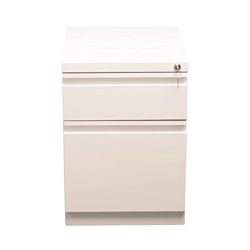 2 Drawer Mobile Pedestal File Finish: Pearl White by CommClad