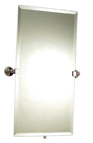 - Motiv 2642/SN London Terrace Mirror/Large, Satin Nickel