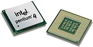 Intel Pentium 4 CPU 2,4 gHz 2400 mhz SL6EF SL6RZ SL6PC North wood tray CPU (4J)