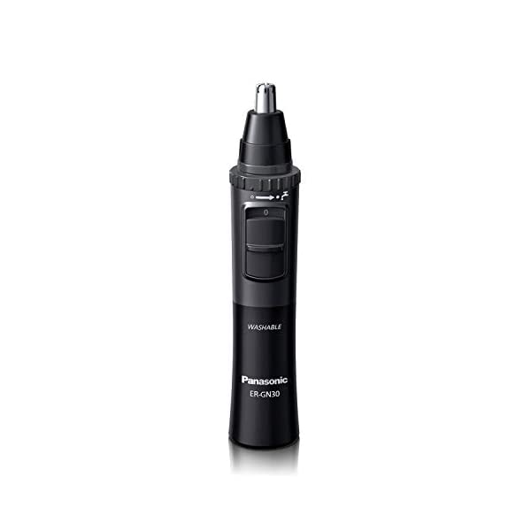 Panasonic Men's Ear and Nose Hair Trimmer, Wet Dry Hypoallergenic Dual Edge Blade - ER-GN30-H 1